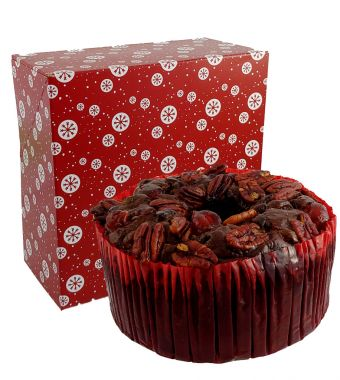 Product Name: Dark Fruit Cake Ring in Decorative Box